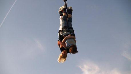 Bungee jumping z jeřábu (až 120 metrů) v Brně pro jednoho