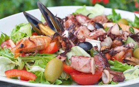 Chorvatské menu z mořských plodů pro dva