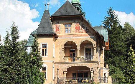 Luxusní lázeňský pobyt v Luhačovicích