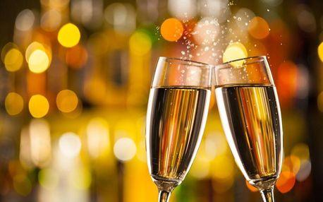 Ochutnávka šesti druhů exkluzivního šampaňského