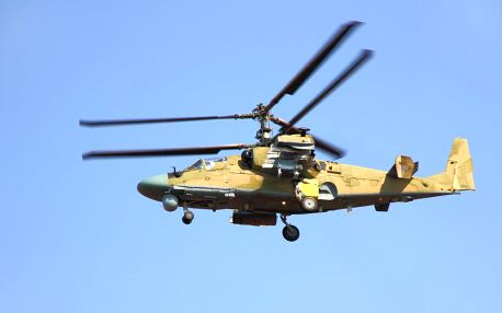 Simulátor vrtulníku Kamov Ka-50, 30 minut v Praze