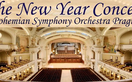 Novoroční galakoncert ve Smetanově síni v Praze