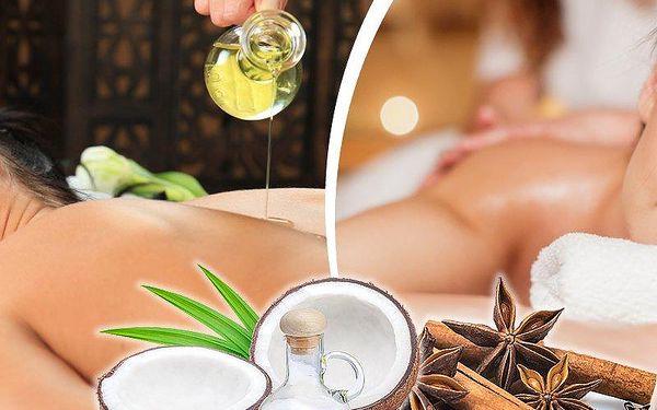 30 nebo 60 minutová masáž dle výběru se skořicí nebo kokosem u Václavského náměstí.