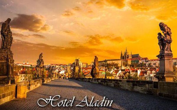 Romantika pro dva v Praze v hotleu Aladin
