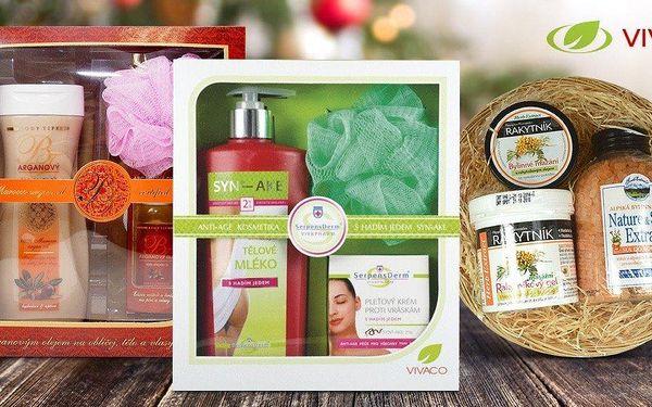 Přírodní kosmetika Vivaco v dárkovém balíčku