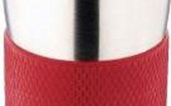 Termohrnek cestovní 380 ml, červený RENBERG BL-1333cerv