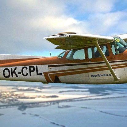 Opravdové pilotování vybraného letadla