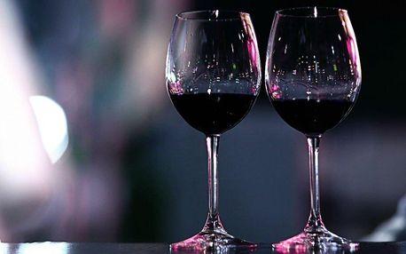Degustace vína s uzeným pro dvě osoby
