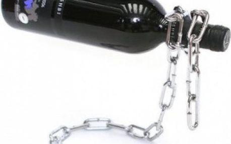 Řetězový stojan na víno - skladovka