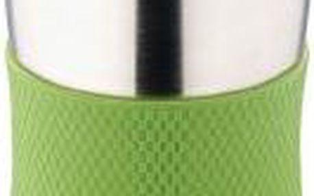 Termohrnek cestovní 380 ml, zelený RENBERG BL-1333zele
