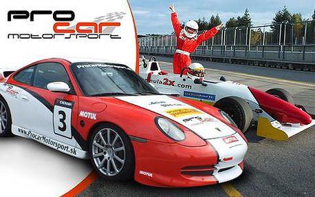 Jízda ve Formuli, Porsche, KTM X Bow, Mustangu, racetaxi Formuli 2x