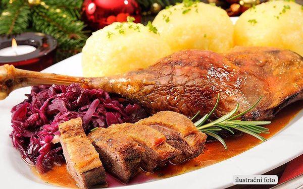 Zimní menu pro dva v restauraci Satchmo