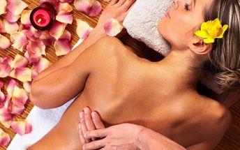 Klasická nebo relaxační aroma masáž se zábalem