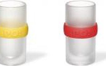 Ring shot set panákové skleničky v různých barvách/4 ks