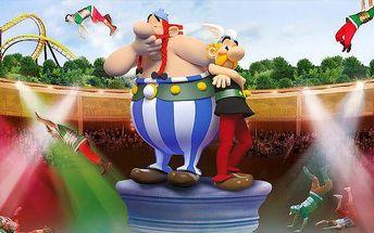 4denní zájezd do Asterix Parku a Disneylandu ve Francii pro 1 osobu