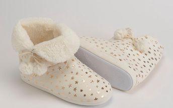 Papuče Ivory Stars, vel. 37/38