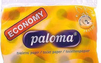 Toaletní papír Paloma 2 vrstvý v tašce 24 ks