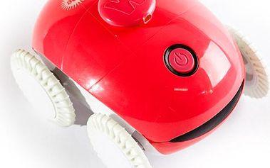 Masážní robot Logicom WheeMe, červený