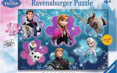 Ravensburger Disney Ledové království podlahové puzzle