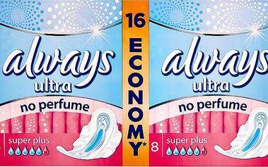 Always Ultra Super plus hygienické vložky 16 ks