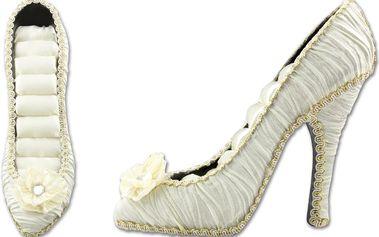 Fashion Icon Stojánek na šperky svatební střevíček