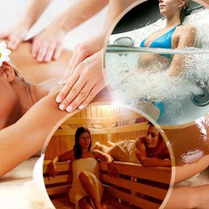 60min. masáž celého těla! Medová, čokoládová, relaxační, sportovní a rekondiční! Navíc sauna nebo vířivka, i pro dva!