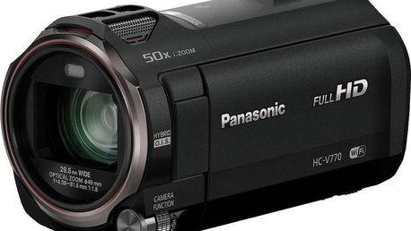 Panasonic HC-V770EP-K černá