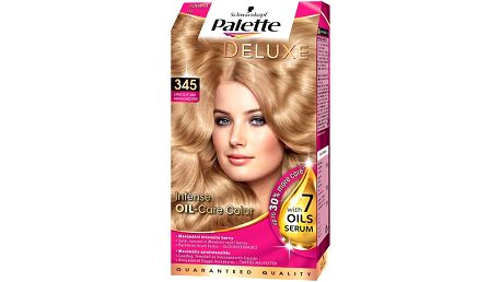 Schwarzkopf Palette Deluxe barva na vlasy Zářivě Zlatý Med 345