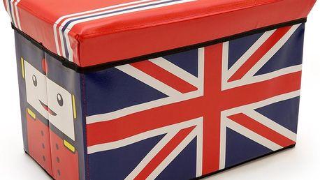 Euromat úložný box britská vlajka