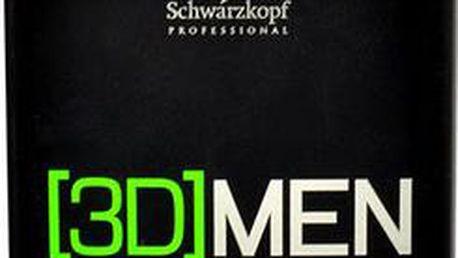 Schwarzkopf 3DMEN Anti Dandruff Shampoo 250ml Přípravek proti lupům M Šampon proti lupům