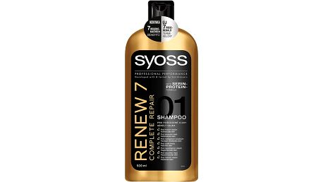 Syoss šampon Renew 7 500 ml