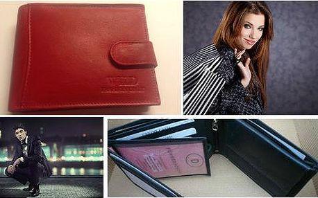 Elegantní dámská nebo pánská kožená peněženka s poštovným v ceně