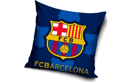 Tip Trade Polštářek FC Barcelona Blue, 40 x 40 cm,