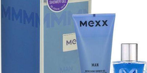 Mexx Man EDT dárková sada M - Edt 50ml + 150ml sprchový gel