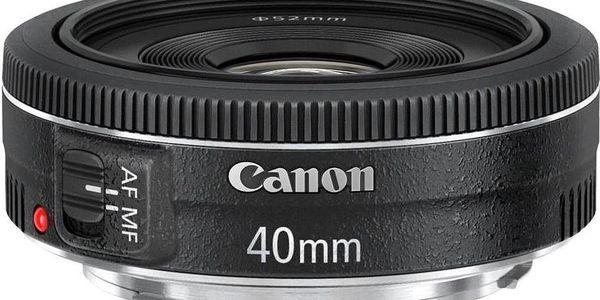 Canon EF 40 mm f/2.8 STM + Dárek v hodnotě 290 KČ