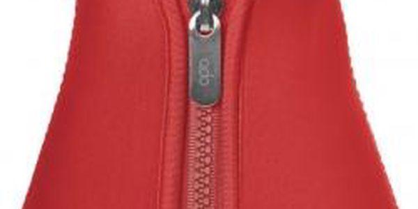 Čajová konvička varná s termo pouzdrem, červená