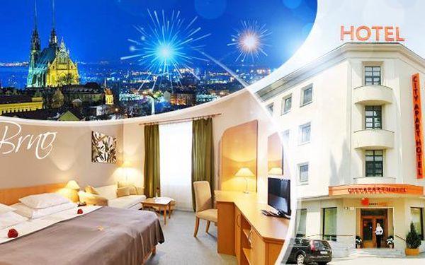 Silvestrovský pobyt - Brno! 3 dny pro 2 osoby v pokoji či apartmánu včetně snídaní, masáže, sektu a občerstvení!