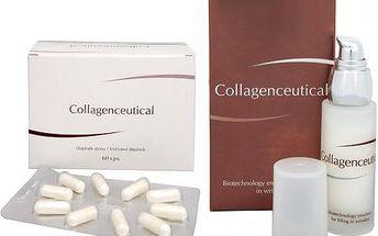 Herb Pharma Collagenceutical - biotechnologická emulze na vyplnění vrásek 30 ml + Collagenceutical 60 kapslí ZDARMA