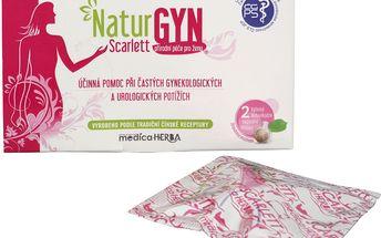 Ostatní NaturGYN Scarlett - bylinné detoxikační vaginální tělísko - 2 ks