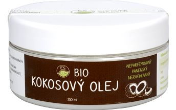 Empower Supplements ES BIO kokosový olej 250 ml + ES BIO Spirulina - vzorek ZDARMA