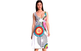 Desigual Dámské šaty Love Blanco 51V21B4 1000 L