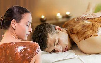 Voňavá čokoládová nebo skořicová masáž v délce 60 minut Vás zbaví stresu a navodí pocit pohody!