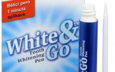 Eva Cosmetics Whitening Pen - bělící zubní pero 5 ml + EVA bělící zubní pudr (menthol) 55 g ZDARMA