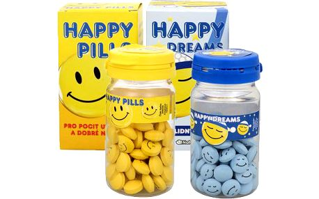 Vetrisol Dárkové balení Happy Pills 75 tbl. + Happy Dreams 75 tbl.