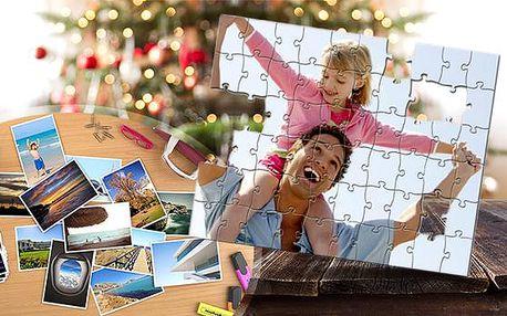 Puzzle A4 s vlastní fotografií včetně poštovného! 35 nebo 120 dílů k sestavení těch nejmilejších vzpomínek!
