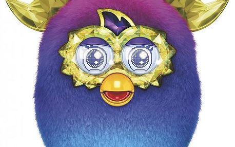 Furby Boom Sweet Crystal blue ombre + Koloběžka