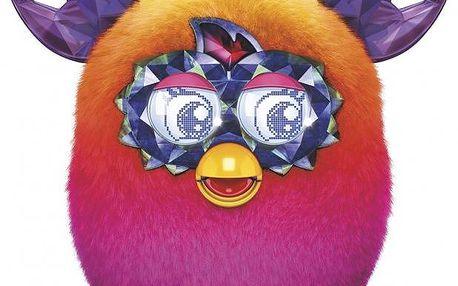 Furby Boom Sweet Crystal pink ombre + Koloběžka