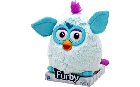 Furby Mohican plyšový, 20cm Turquoise