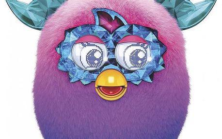 Inteligentní hračka Furby Boom Sweet Crystal purple ombre