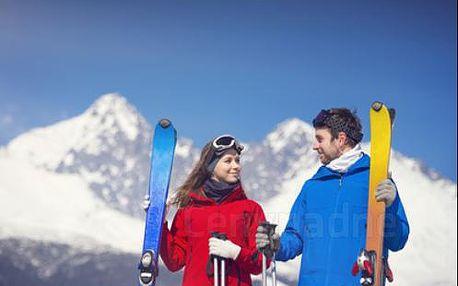 Vysoké Tatry jako na dlani, rodinné ubytování BEZ STRAVY se super lyžovačkou na dosah